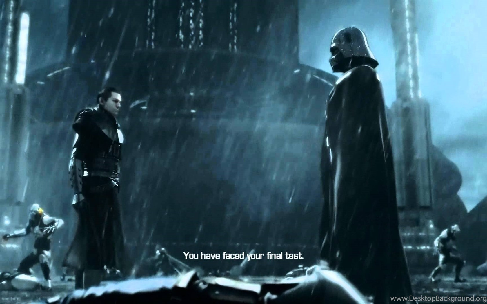 Star Wars The Force Unleashed Ii Dark Side Ending Youtube Desktop Background