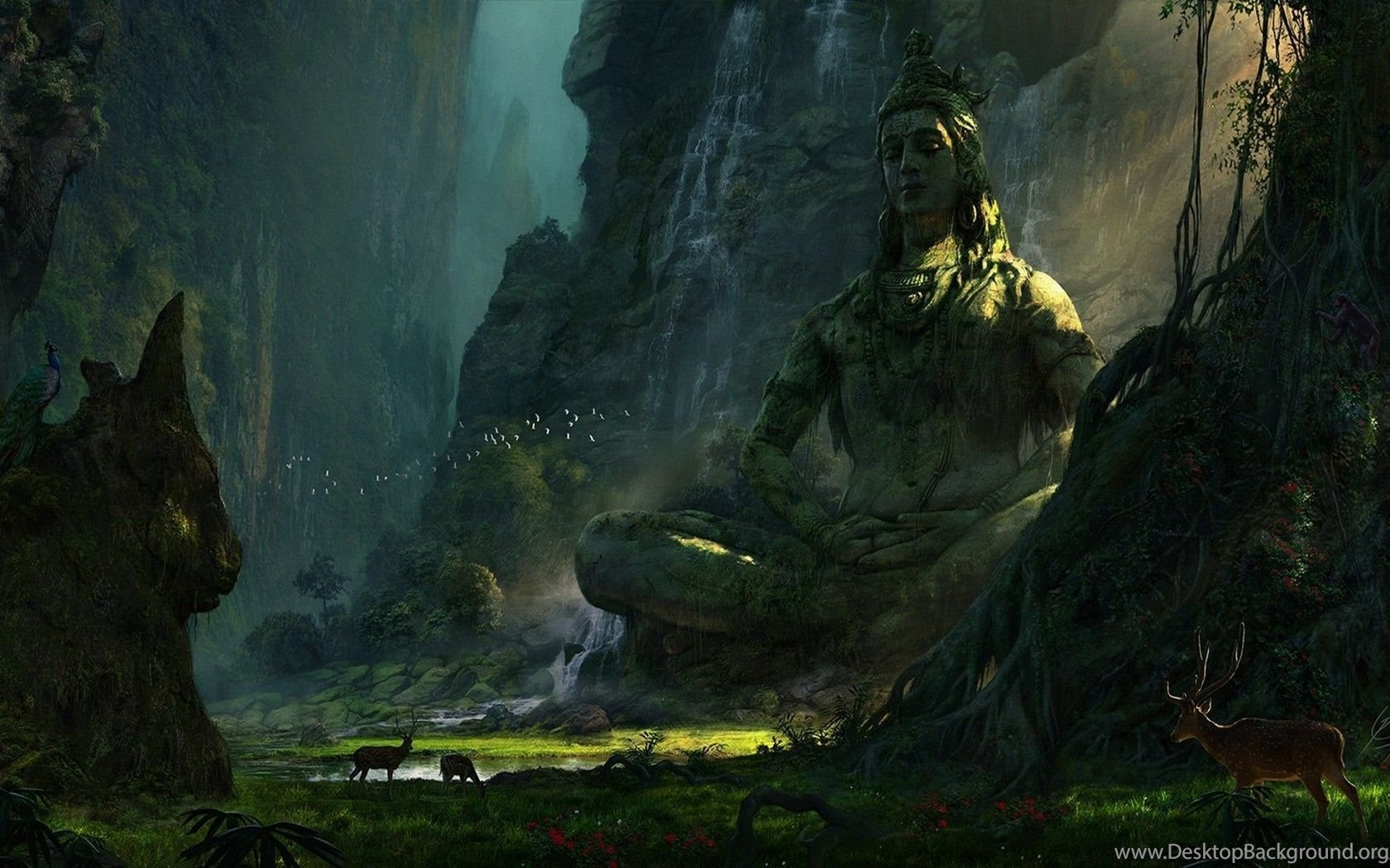 Lord Shiva Wallpapers 3d: Unexplored Ruins (Lord Shiva). : Wallpapers Desktop Background