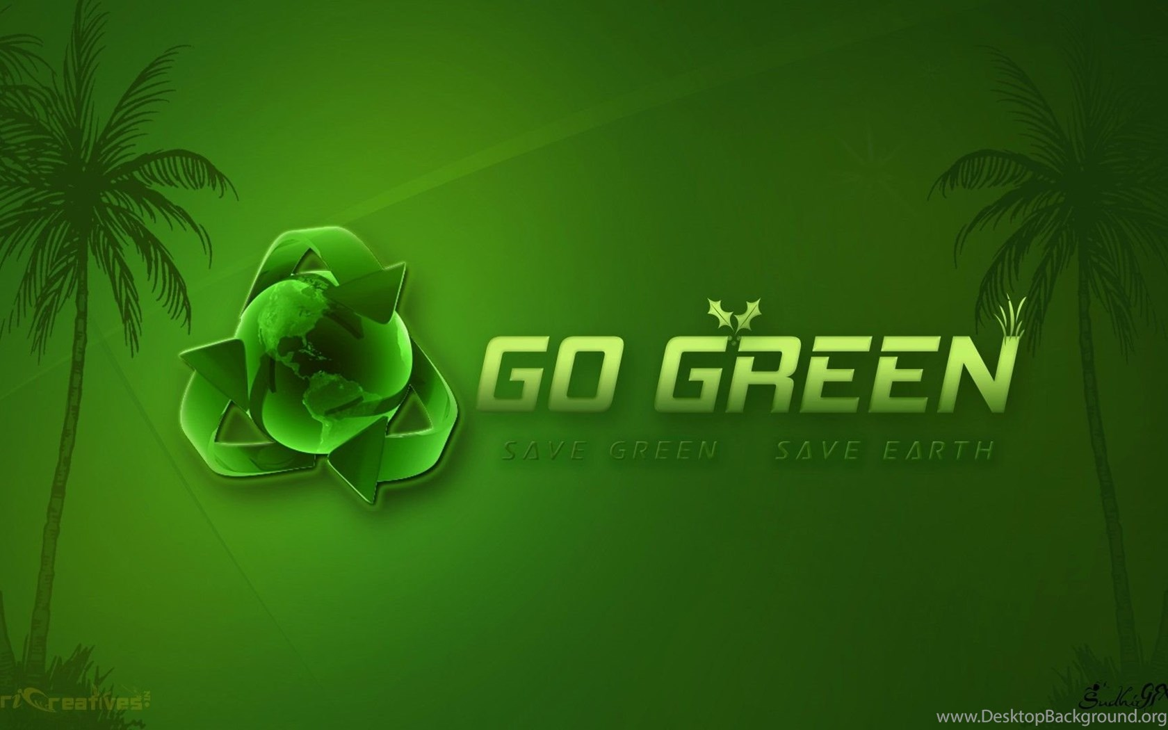 Go Green Wallpapers Wallpapers HD Base ...