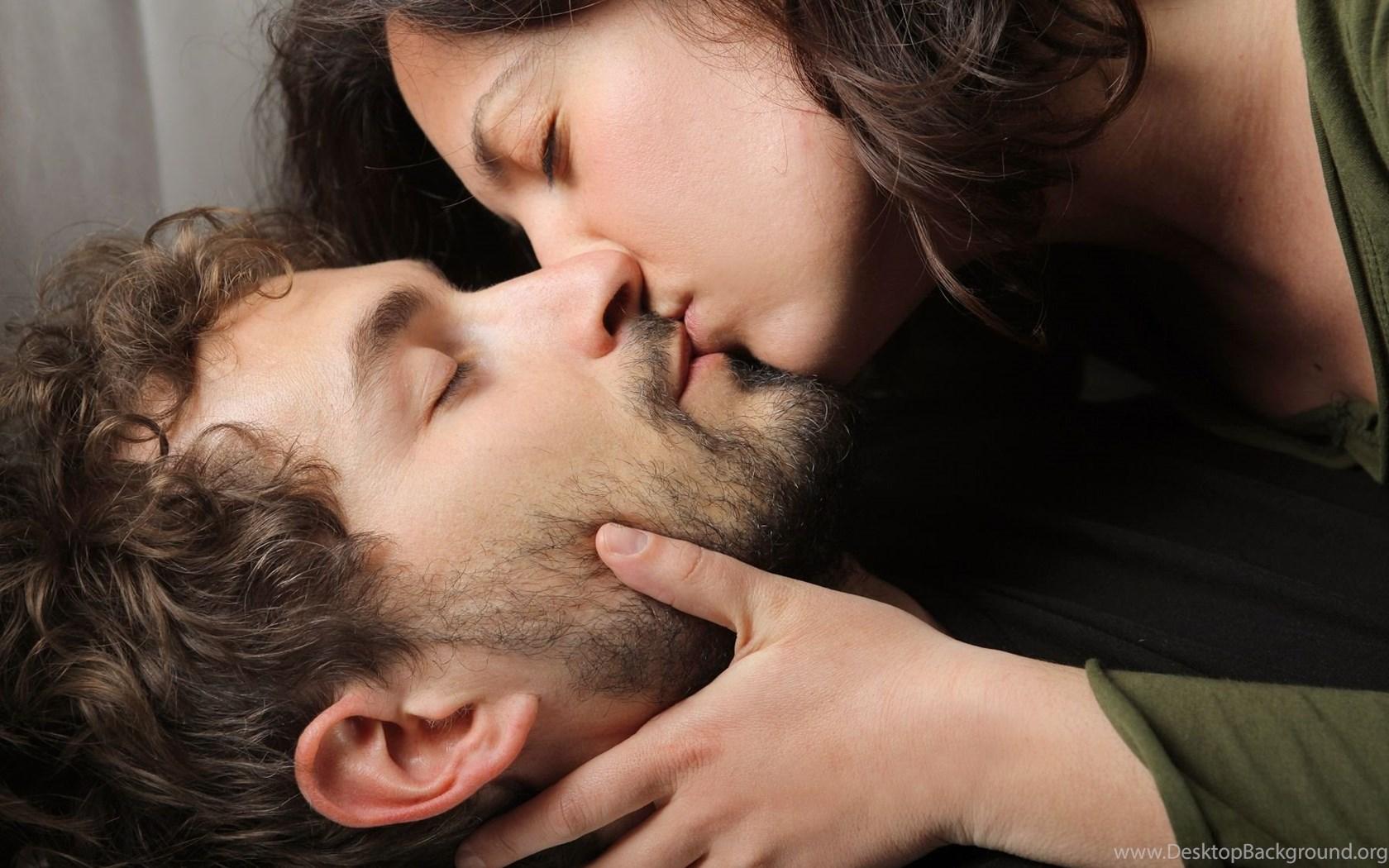 Lip kiss hd photo