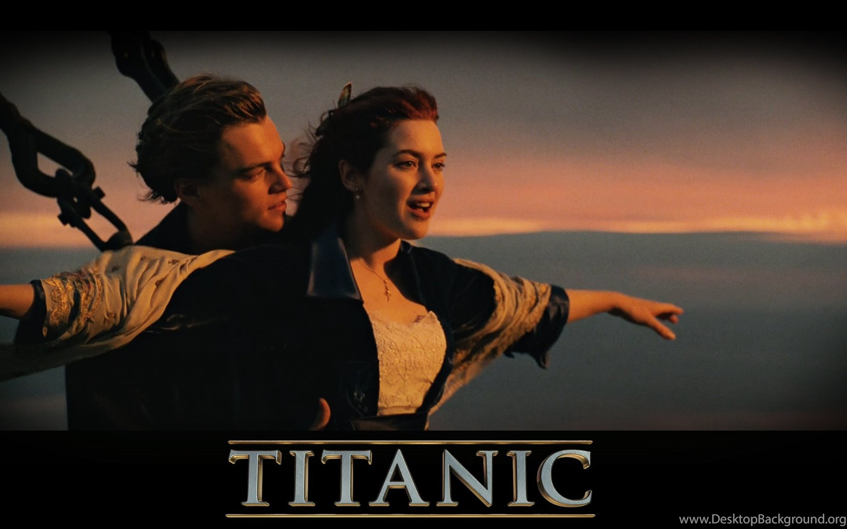titanic romantic scene (jack and rose) hd wallpapers desktop background