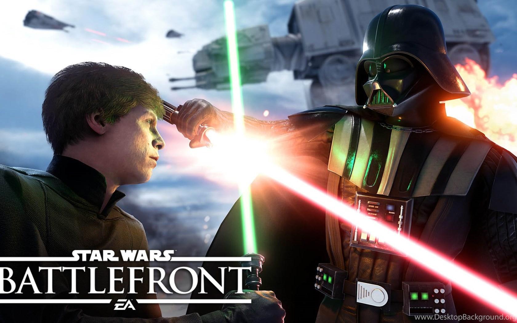 503036 luke skywalker vs darth vader star wars battlefront
