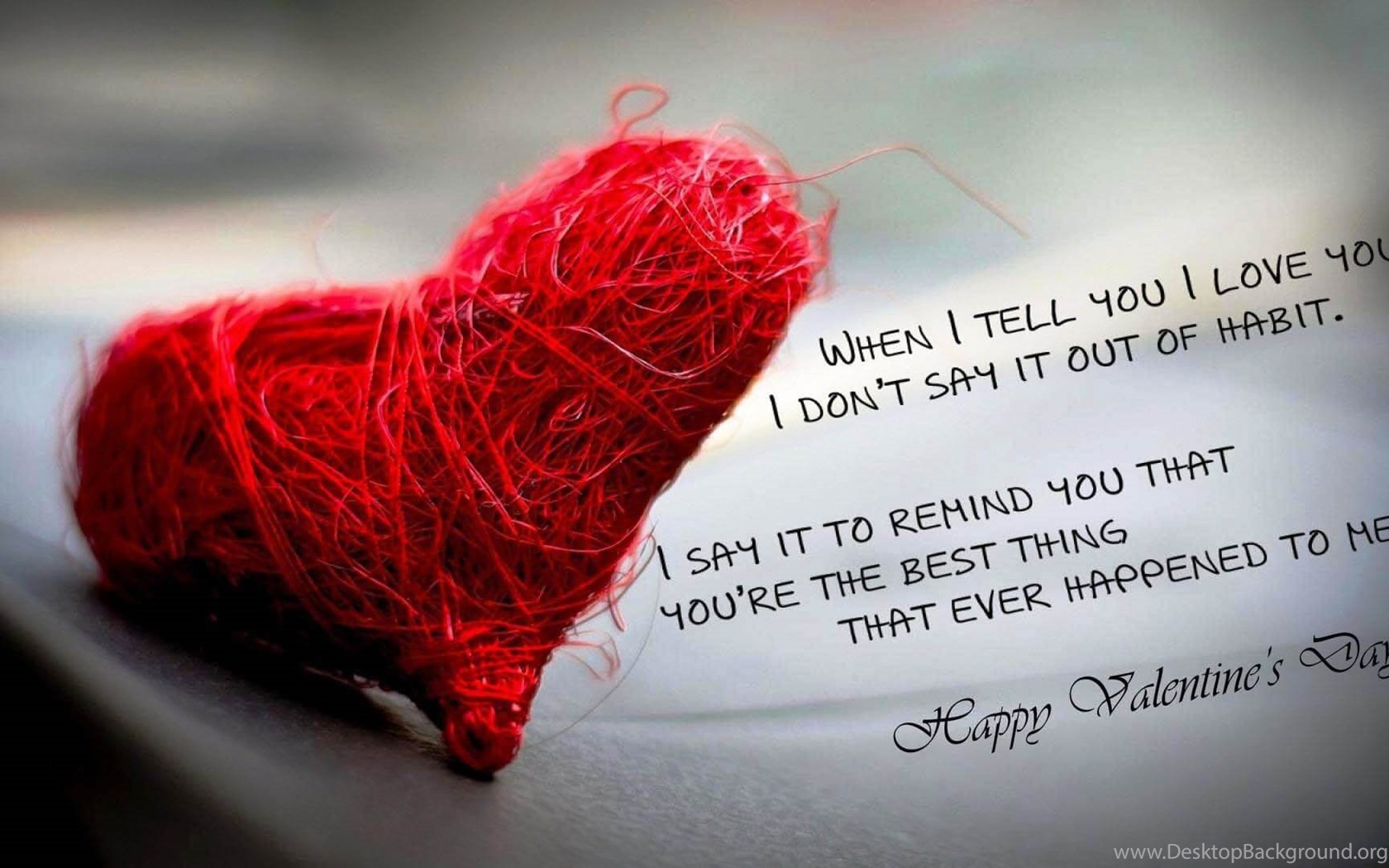 Happy Valentines Day Quotations Quotes Free Hd Wallpaper Jpg Desktop