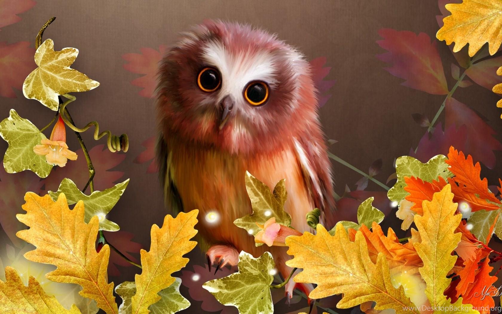 Картинки на рабочий стол приколы осень