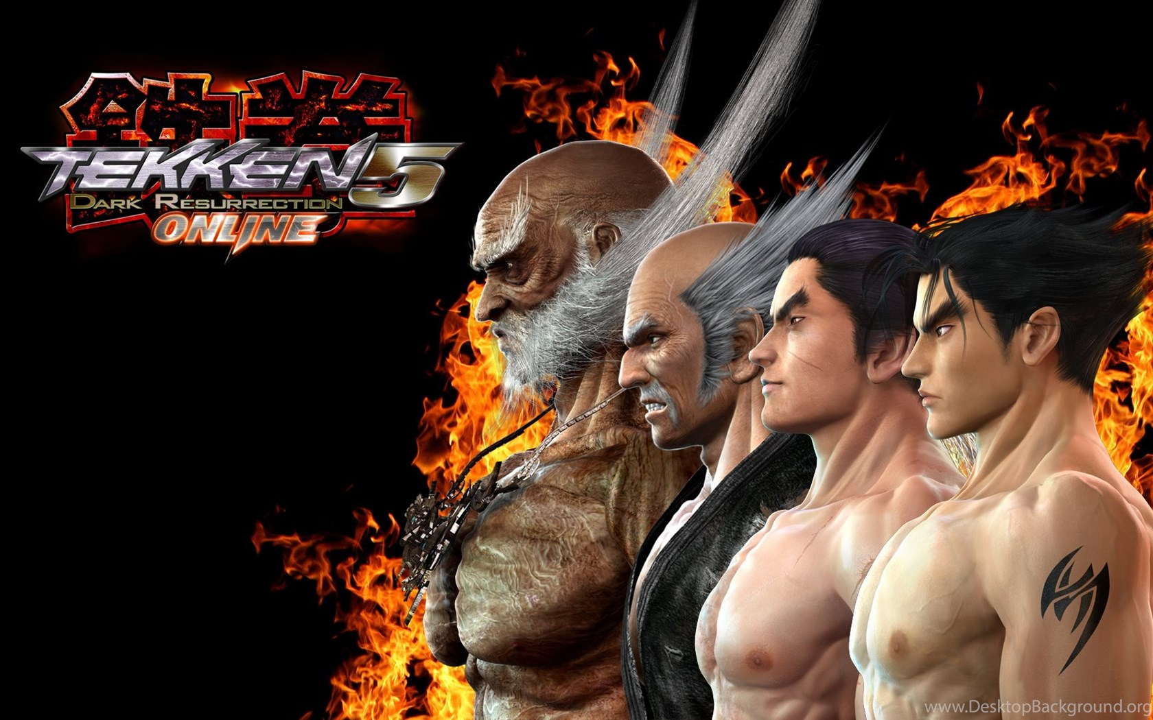 Download Tekken Lili Heihachi Jin Jinpachi Kazuya Mishima Free Desktop Background