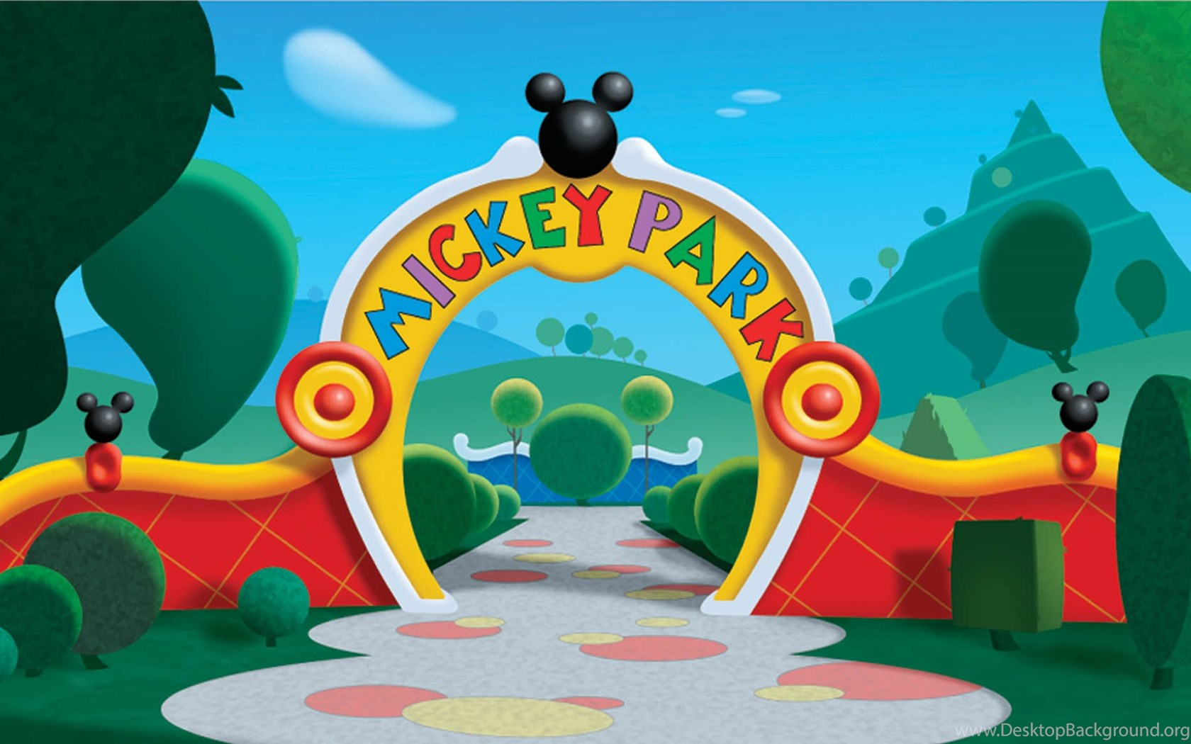 mickey mouse clubhouse backgrounds bing images desktop