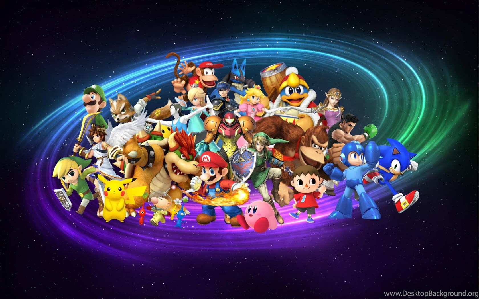 New Super Smash Bros Wallpapers Updated With Diddy Kong 1080p