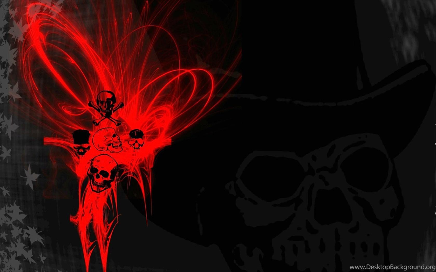 Death Metal Black Heavy Dark Horror Evil Skull Wallpapers