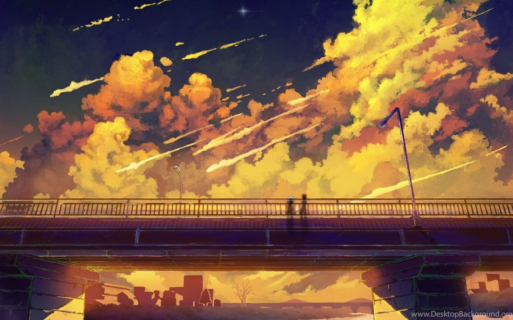 anime scenery free wallpapers 2711 hd wallpapers site desktop background