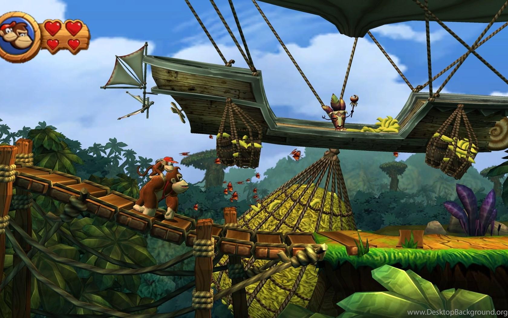 19 Donkey Kong Country Tropical Freeze Hd Wallpapers Desktop