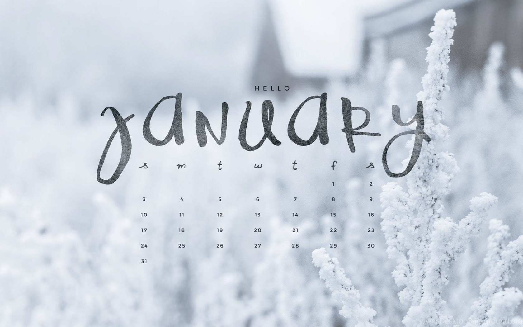 January Hello wallpaper pictures