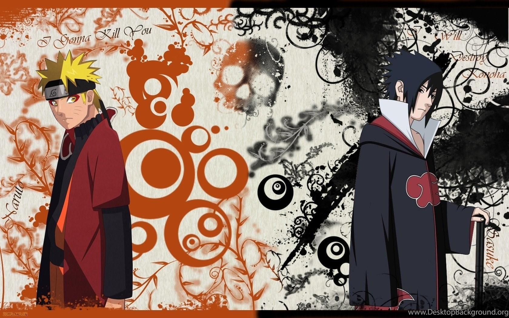 Uchiha Sasuke Naruto Shippuden Akatsuki Anime Sage Mode