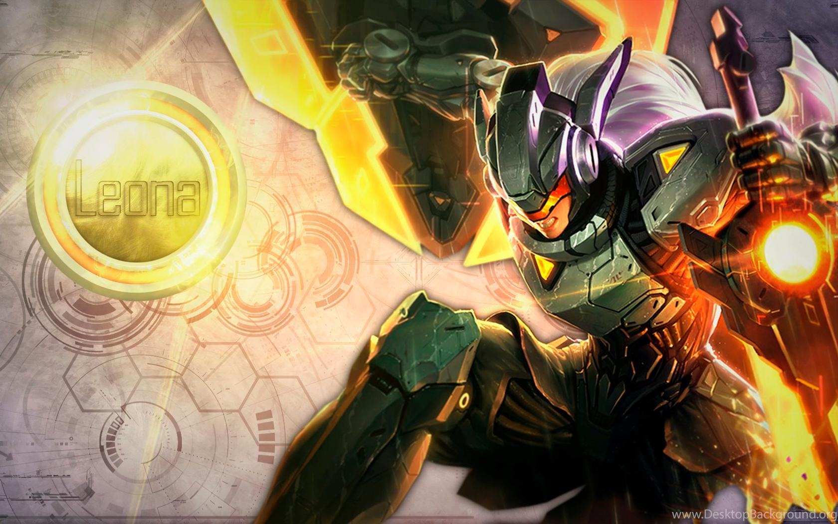 Project Leona Fan Art League Of Legends Wallpapers Desktop Background
