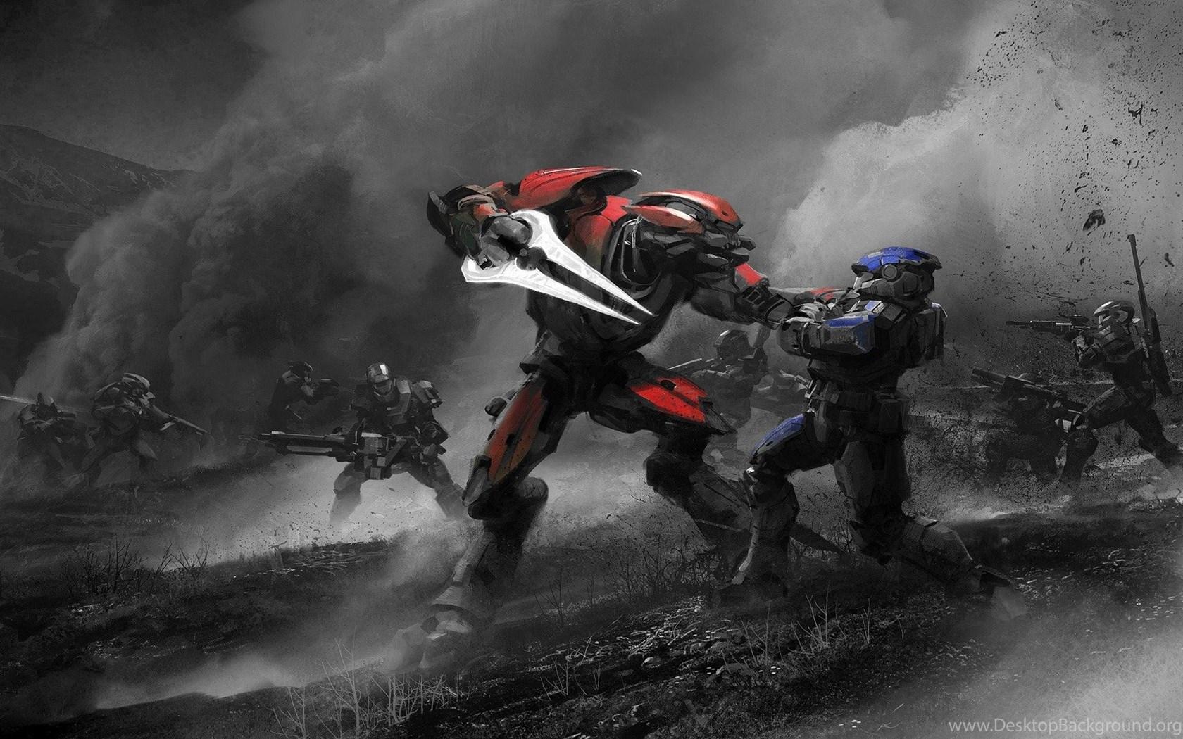 High Resolution Best Game Red Vs Blue Wallpapers Hd 4 Desktop
