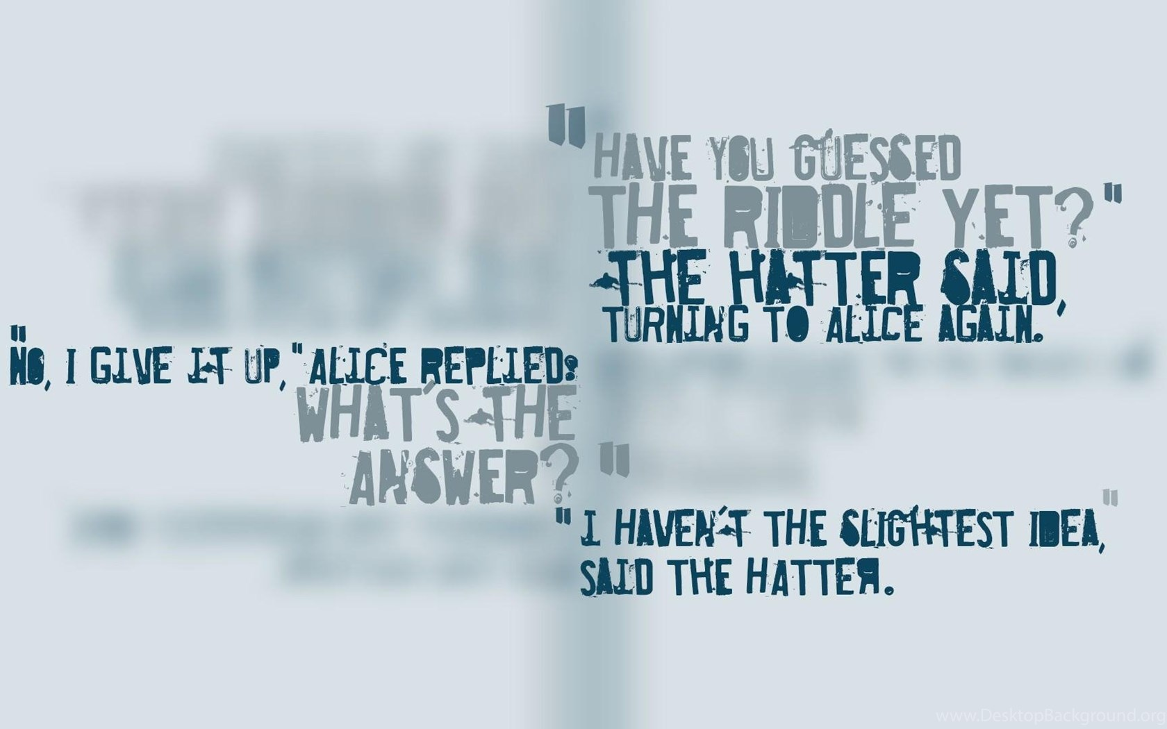 Far Cry 3 Mad Hatter Quotes Riddle Wallpapers Desktop Background