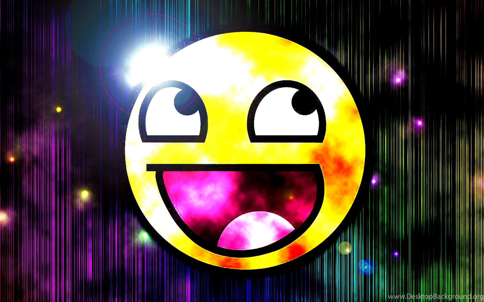 Hd Smiley Face Wallpaper: Epic Face Backgrounds Desktop Background