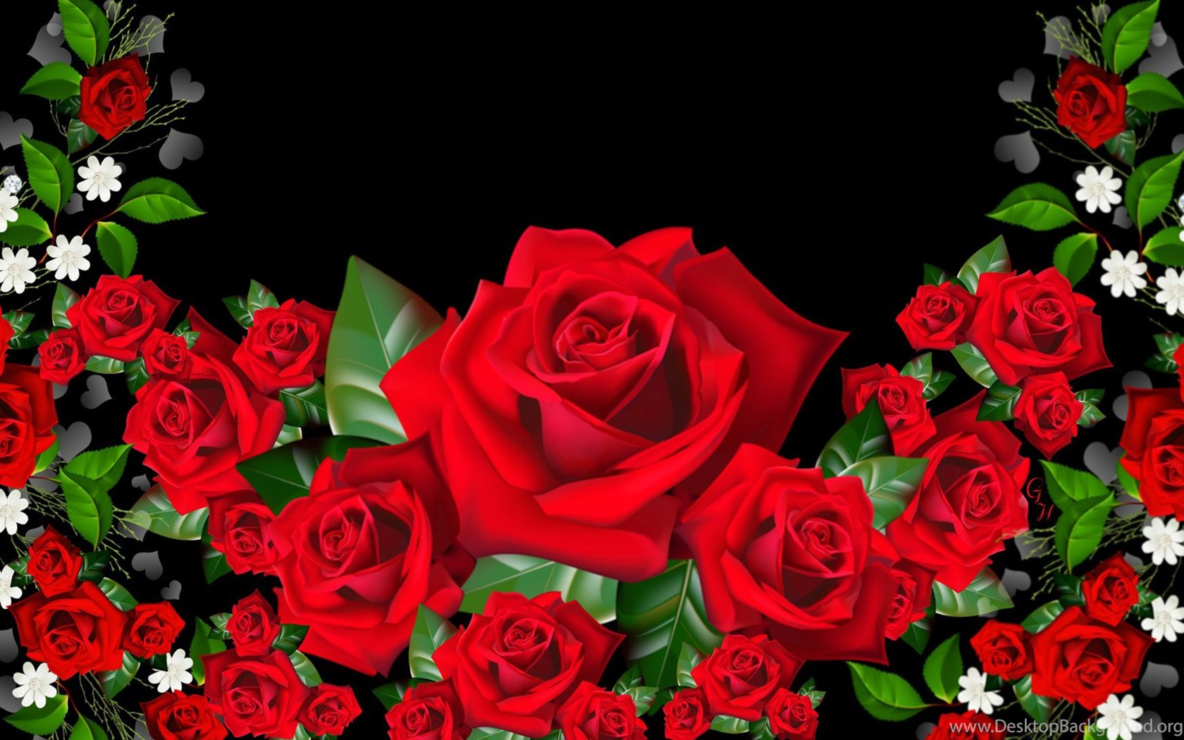 3D Rose Wallpapers 47, Rose Flower Images, Rose Pictures