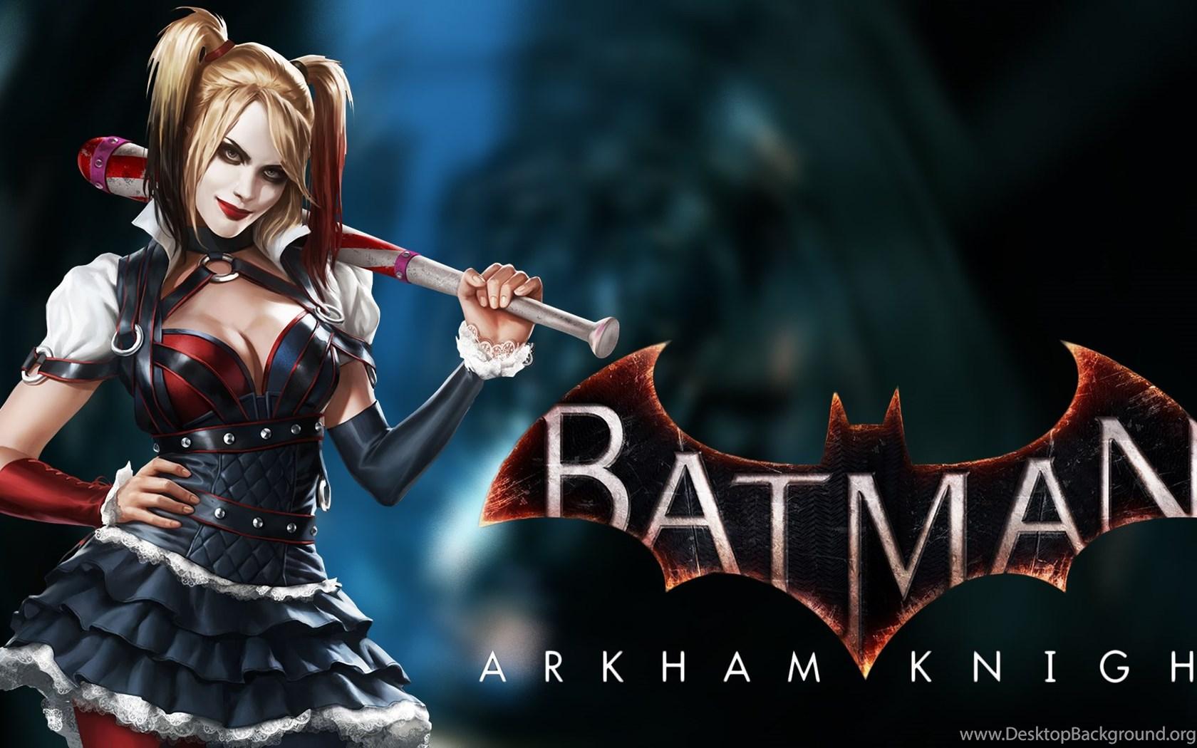 Batman Arkham Knight Harley Quinn Wallpapers Desktop Background