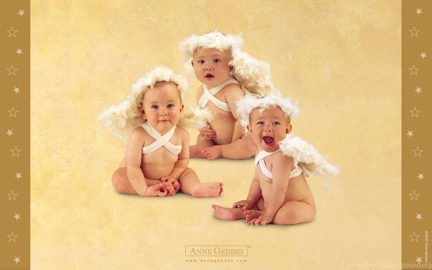 Открытки анны геддес с новорожденными