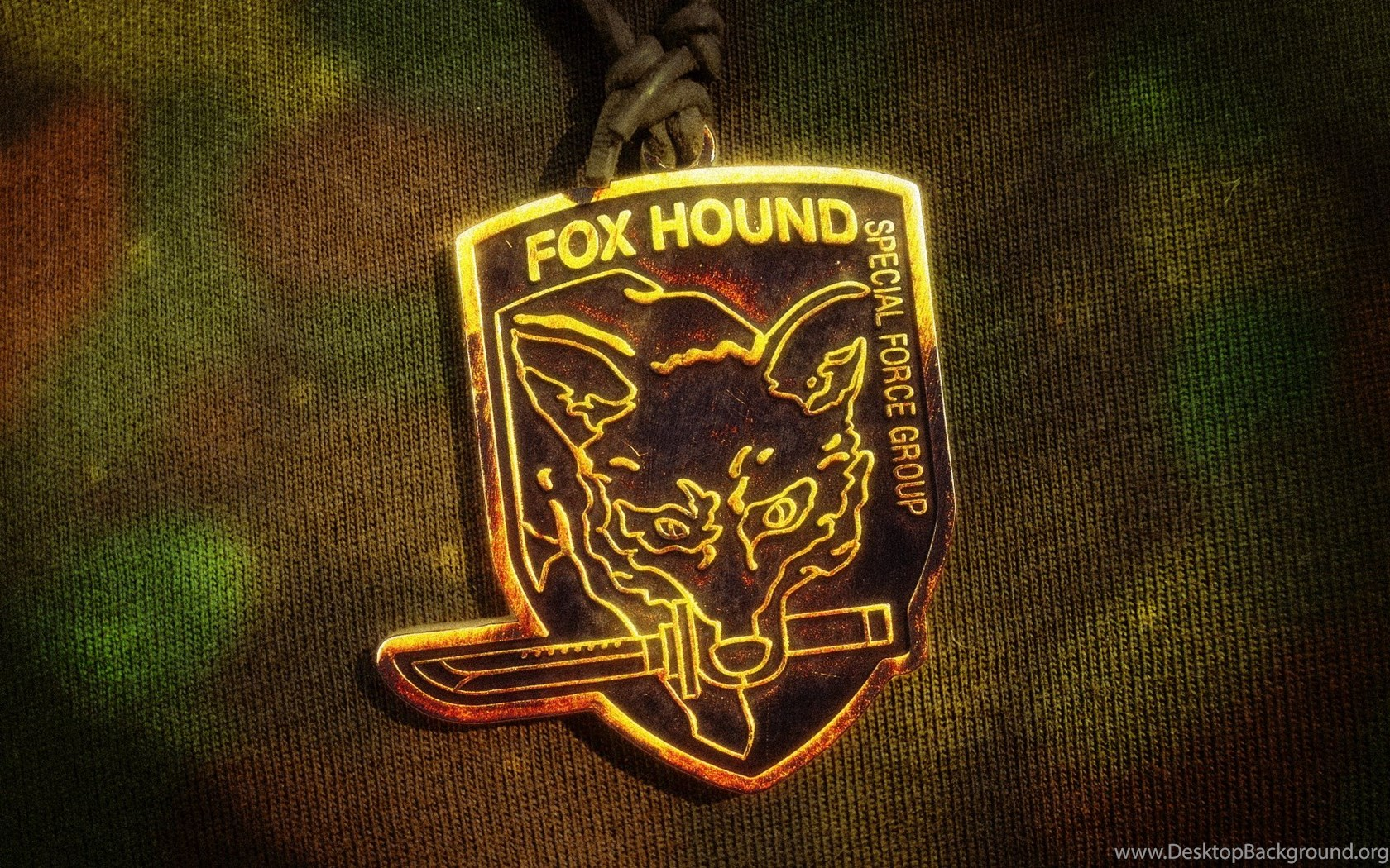 Fox Hound Pendant Camo Wallpapers By Nxsvinyard On