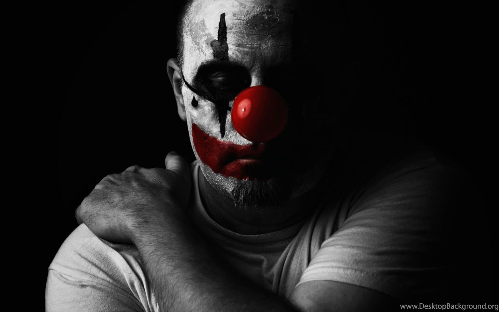 Download Clown Wallpapers Hd 1920x1080 HALLOWEEN Clown Dark