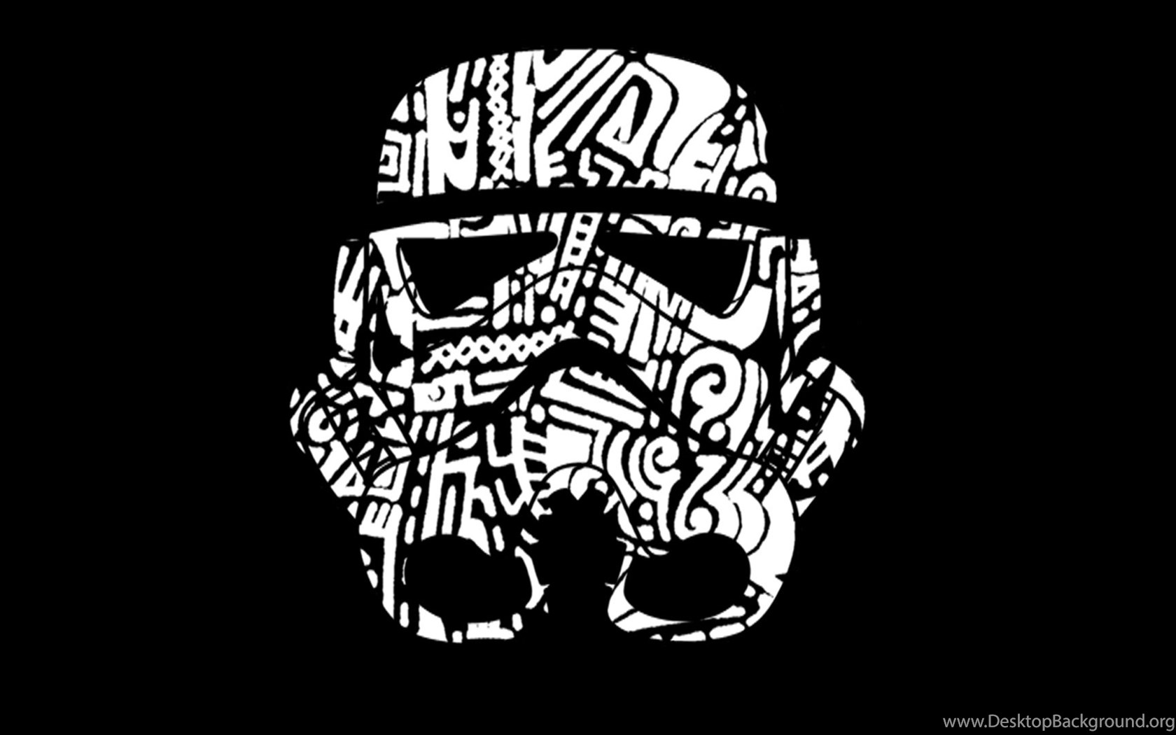 Wallpapers Hd 1080p Black And White Star Wars Desktop Background