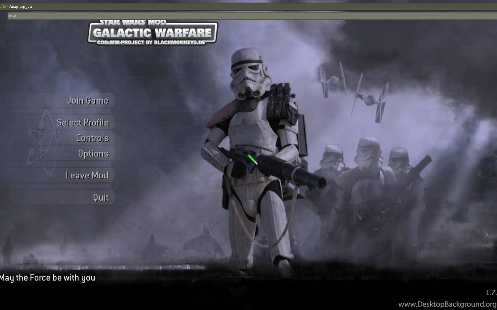 Cod4 Star Wars Mod Mac YouTube Desktop Background