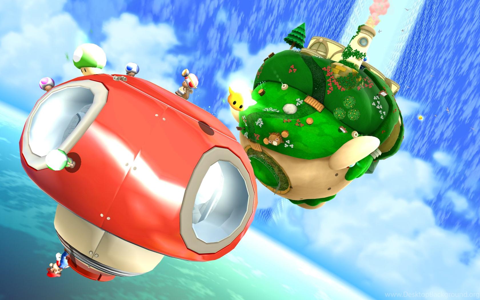 Super Mario Galaxy 2 Wallpapers Hd Desktop Background