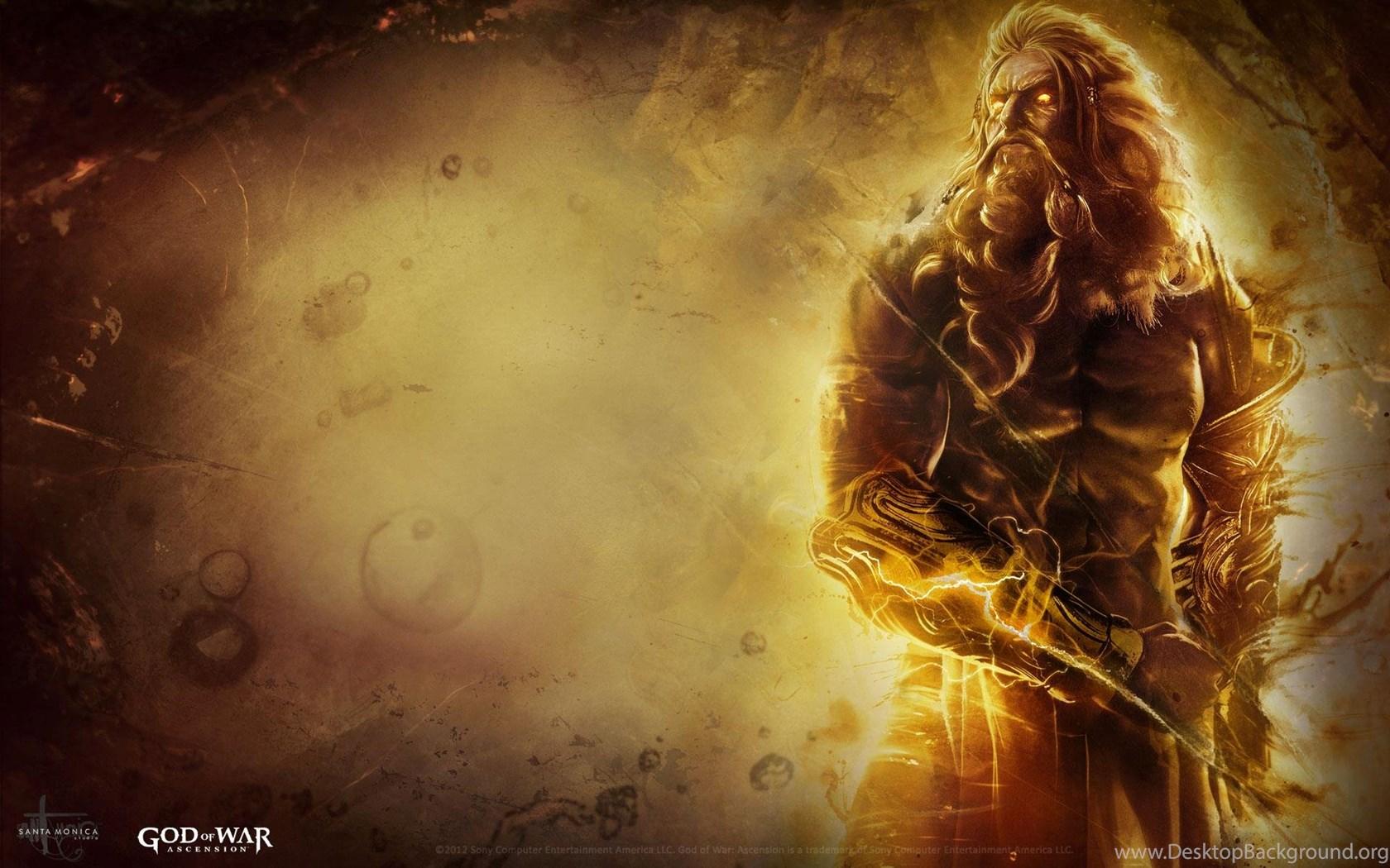 god of war ascension wallpapers zeus select game desktop