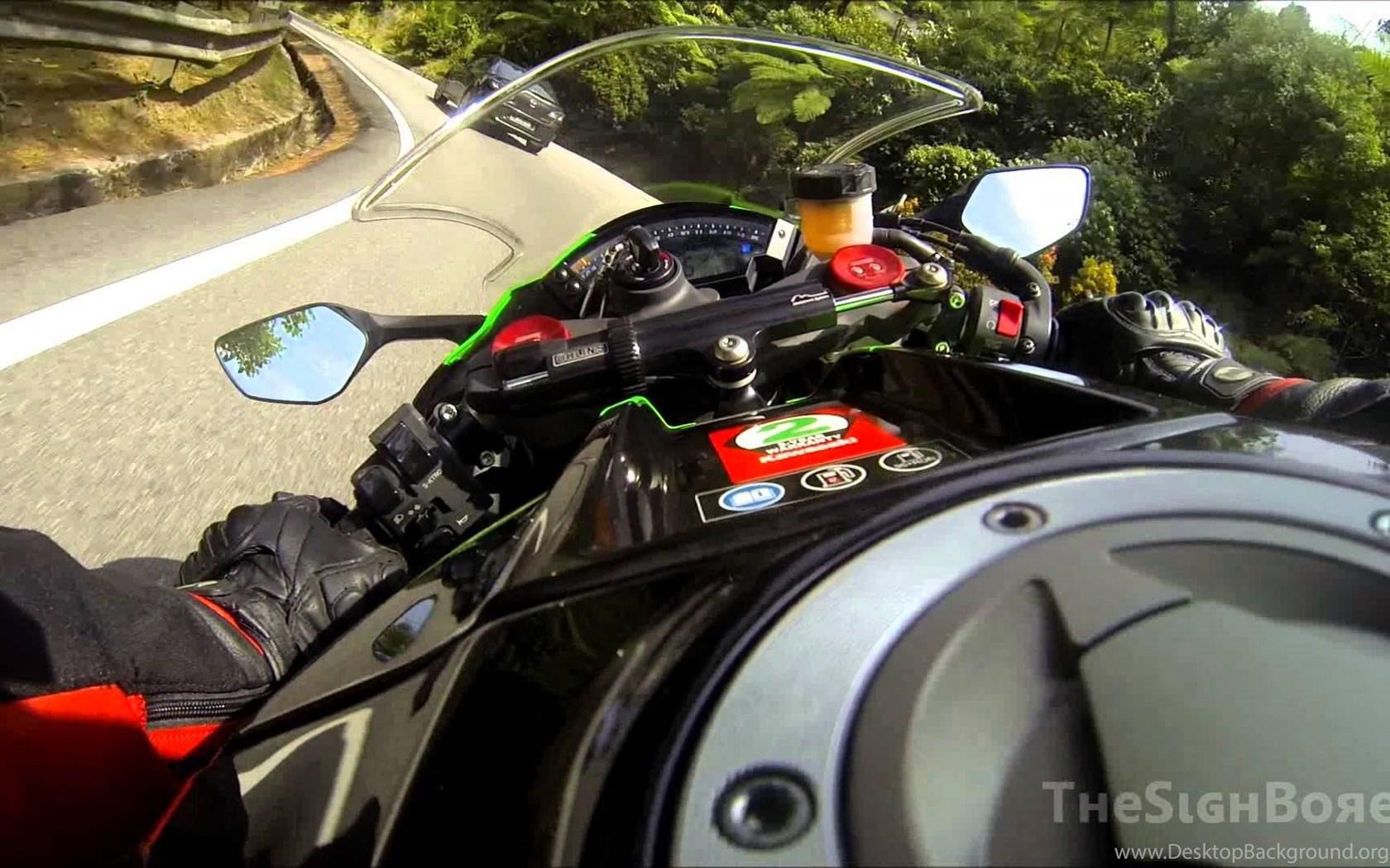 On board Kawasaki Ninja ZX10R: Ride Up Genting Highlands