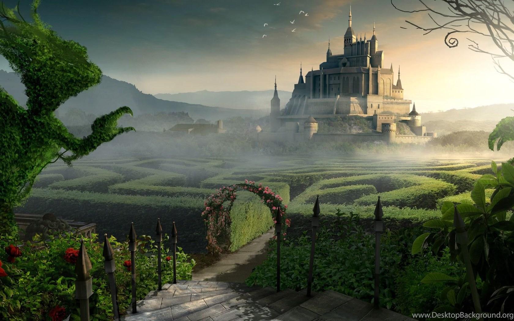 fantasy world backgrounds wallpapers cave desktop background