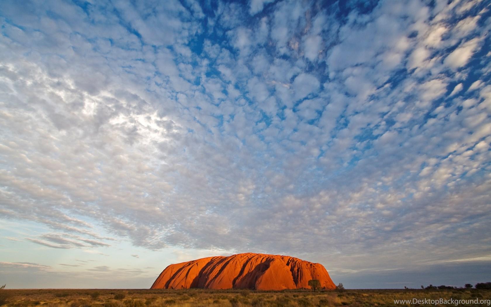 природа поле Улуру австралия скалы  № 586544 загрузить
