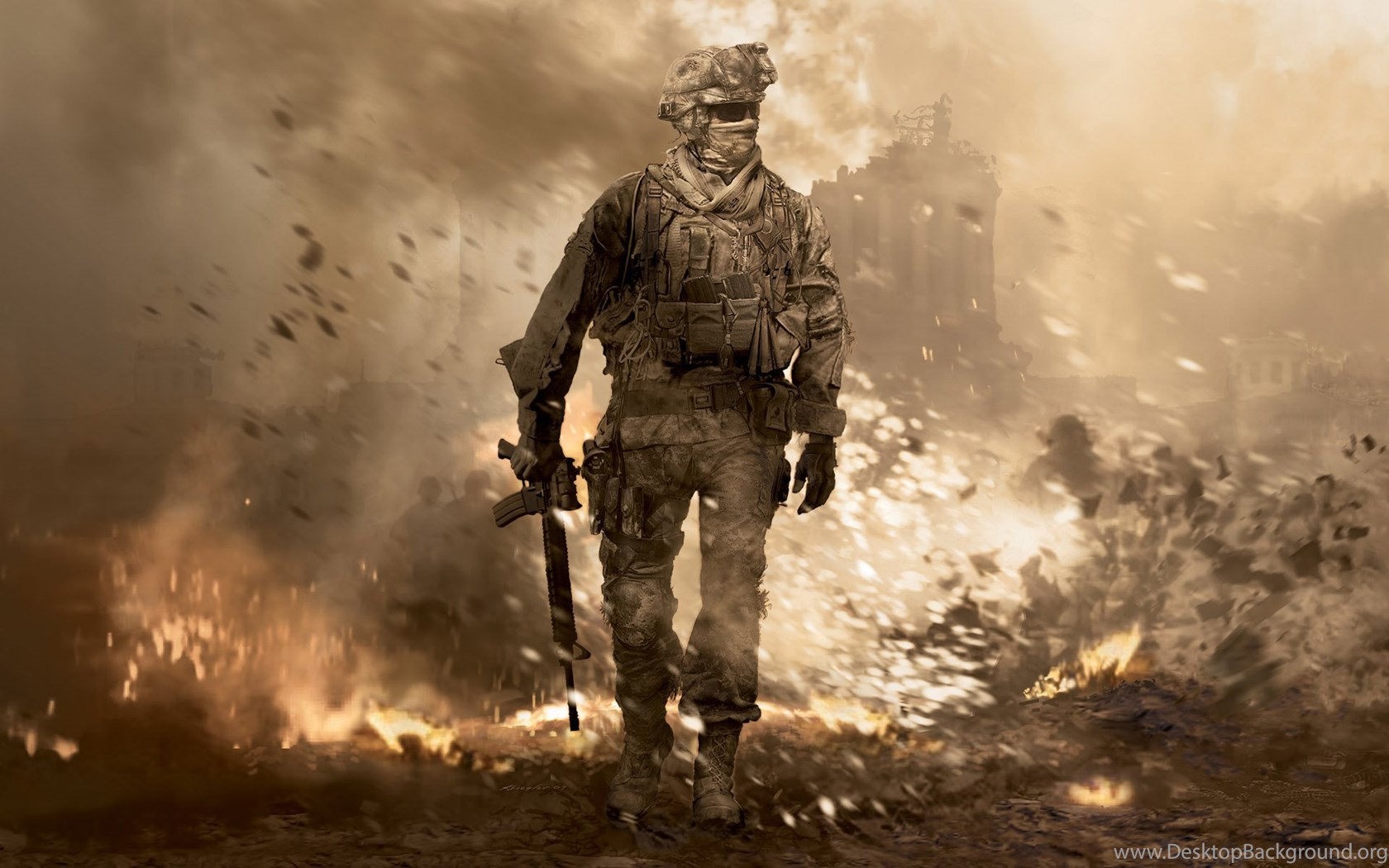 Wallpapers Call Of Duty Call Of Duty 4 Modern Warfare Games Image