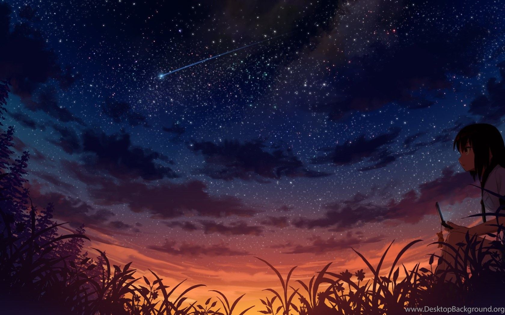 High Resolution Starry Night Sky HD 1080p Wallpapers Full ...