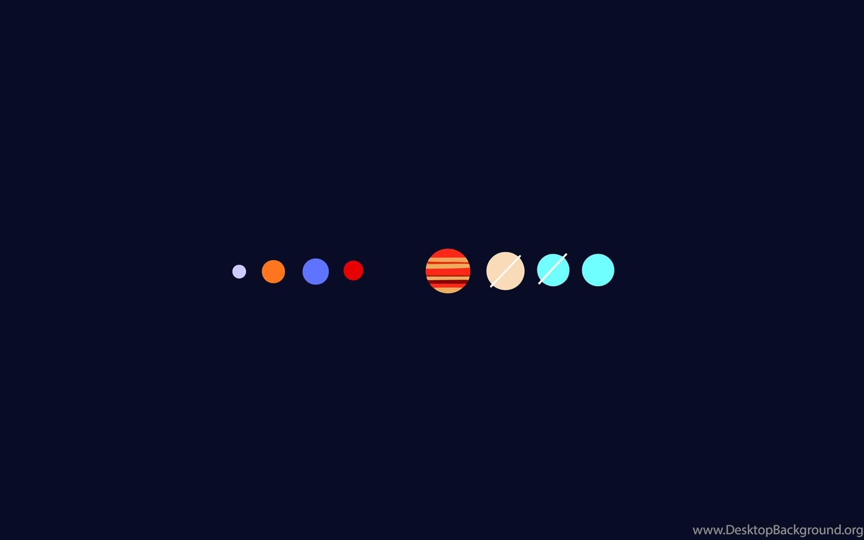 HD Minimalist Simple Minimal Planets Wallpapers Full HD ...