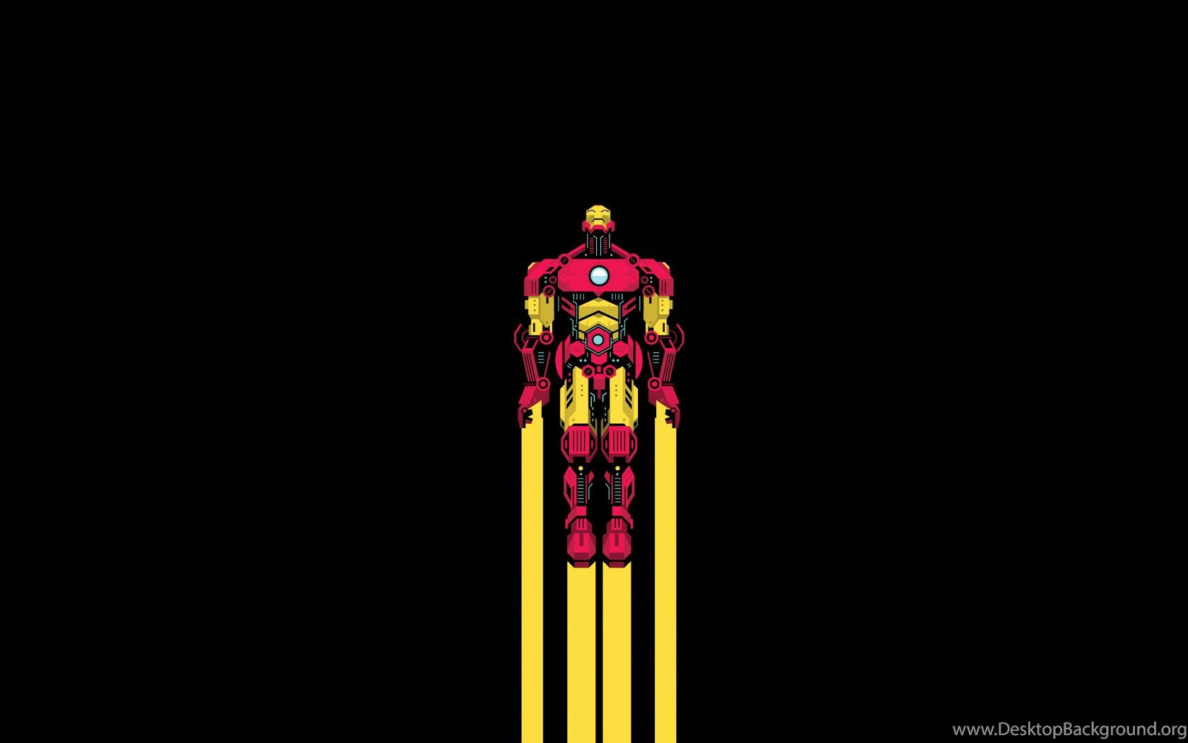 Wallpapers Minimalist Superhero Displaying Images For Iphone