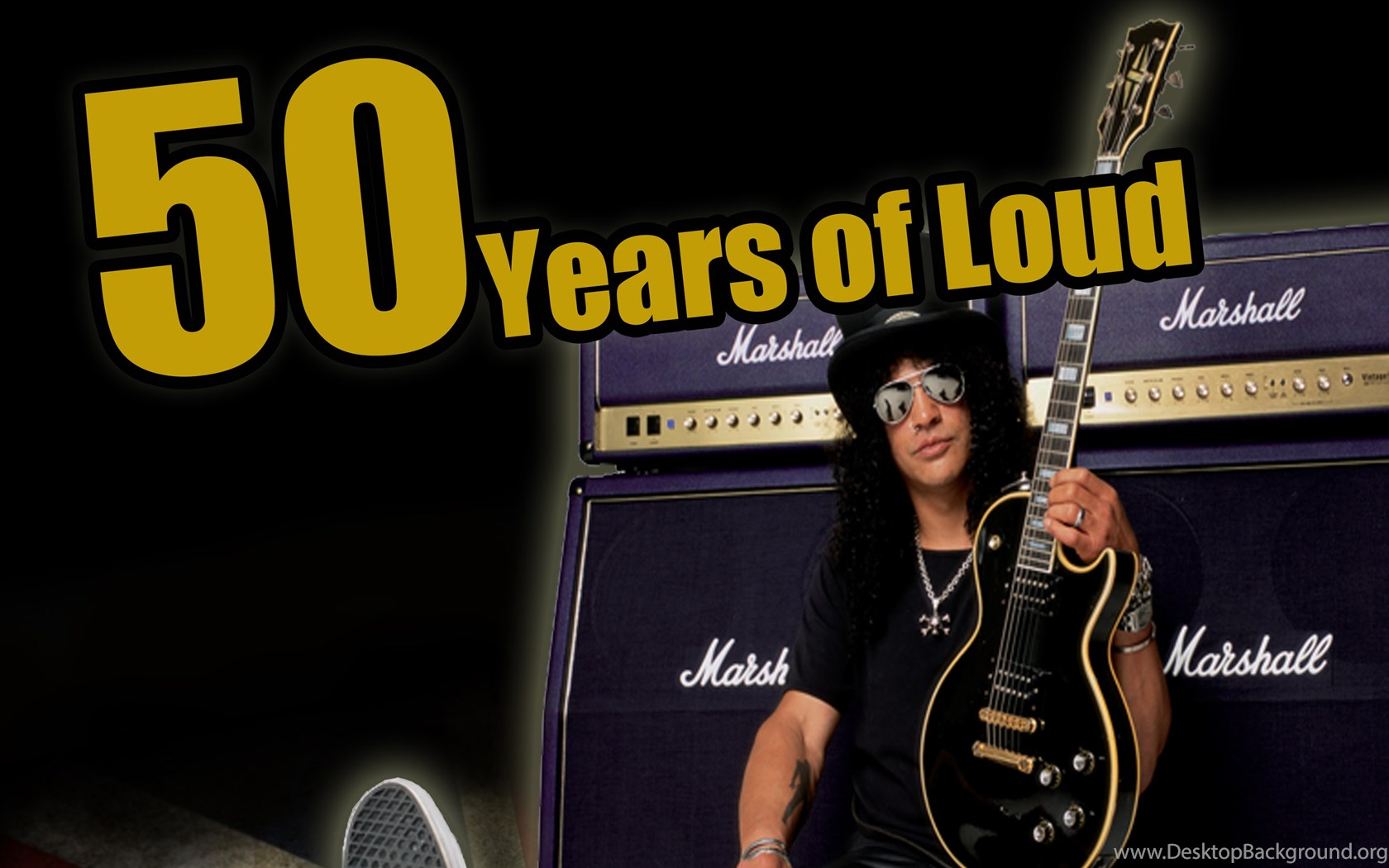 Marshall Amps 50 Years By Mickguitarman On DeviantArt Desktop Background