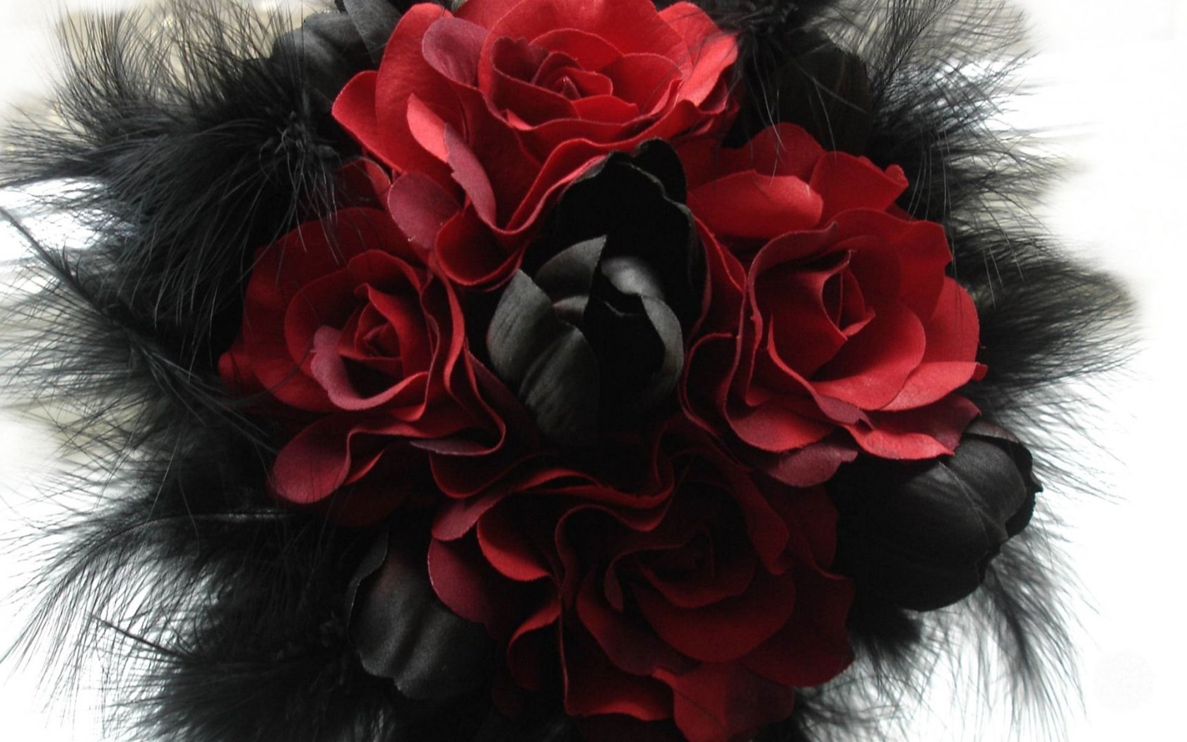 Wallpaper gothic abstract red rose black white - Black and red rose wallpaper ...