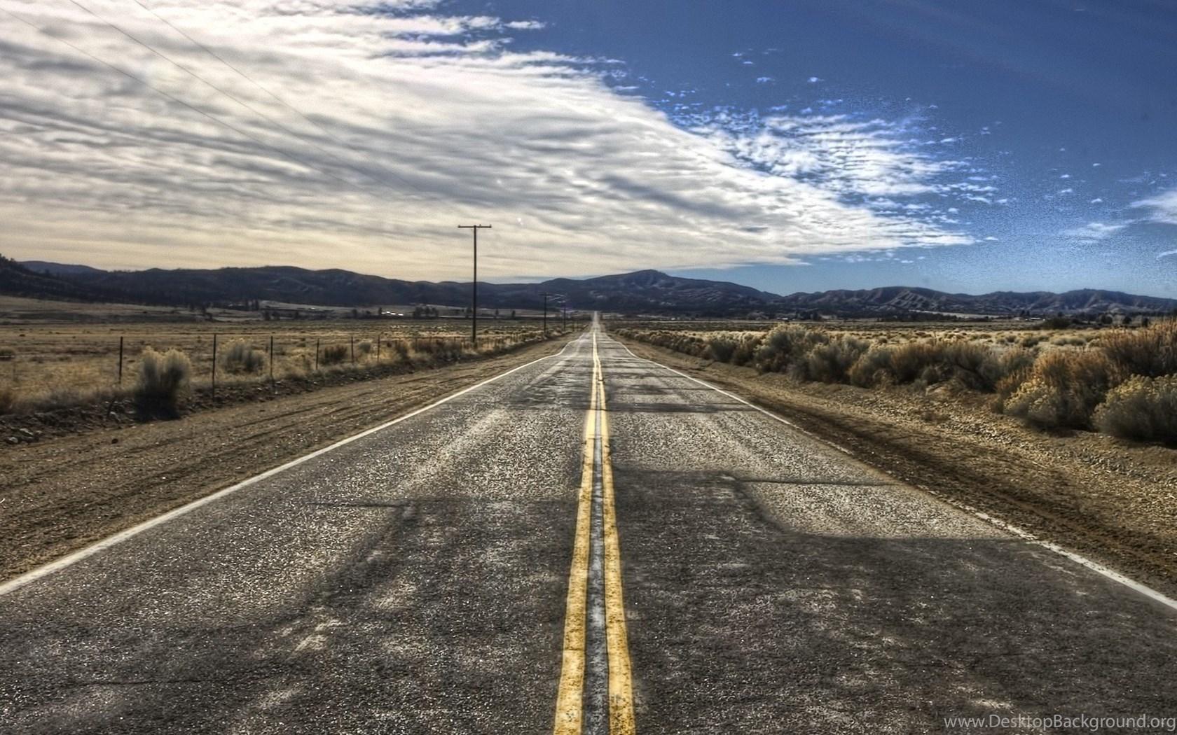 Full Hd Wallpapers Desert Cloud Road Desktop Backgrounds Hd 1080p