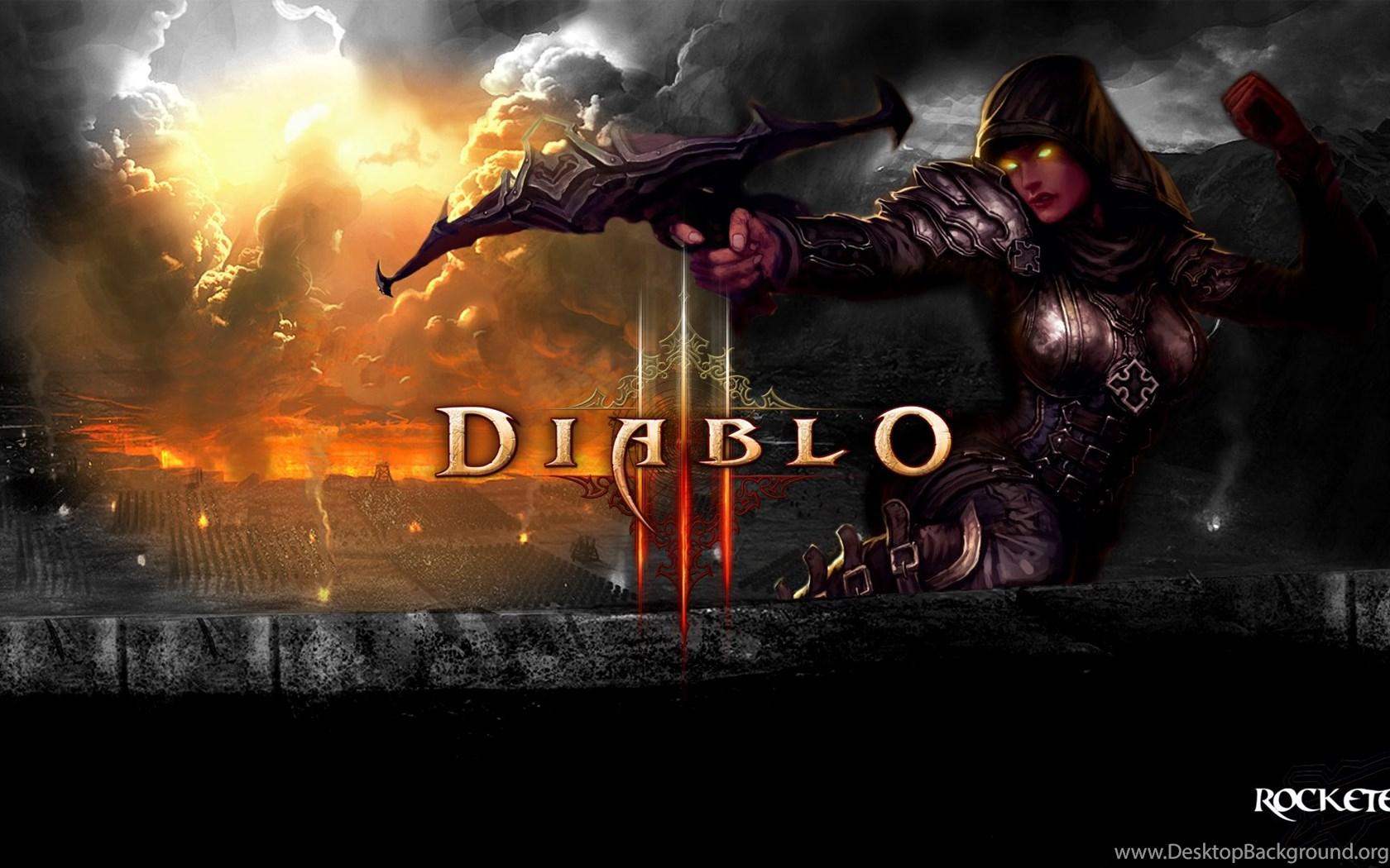 Diablo 3 Wallpapers 1920x1080 Demon Hunter Desktop Background