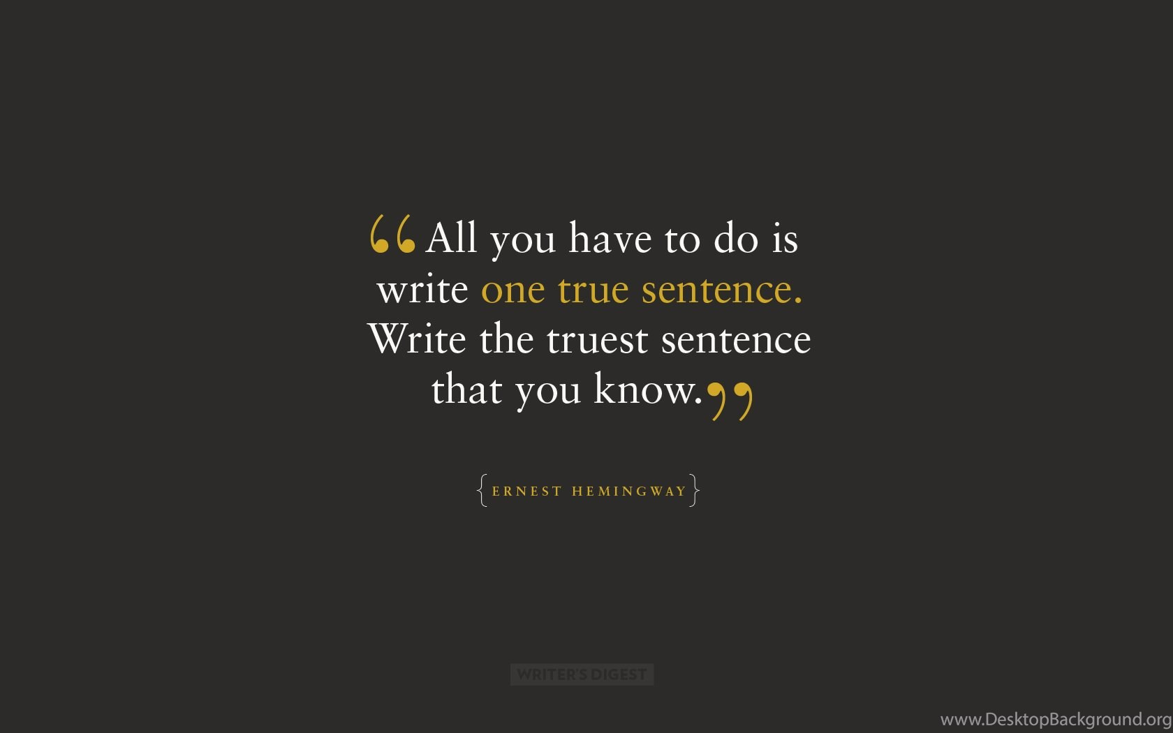Facebook Cover Photos With Quotes Ernest Hemingway Quotes Facebook Coverquotesgram Desktop Background