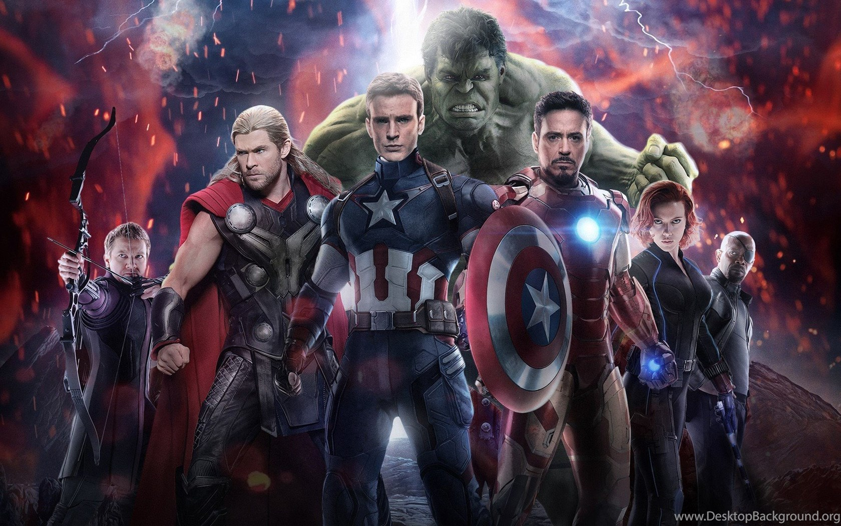 Avengers Age Of Ultron Wallpapers Desktop Background