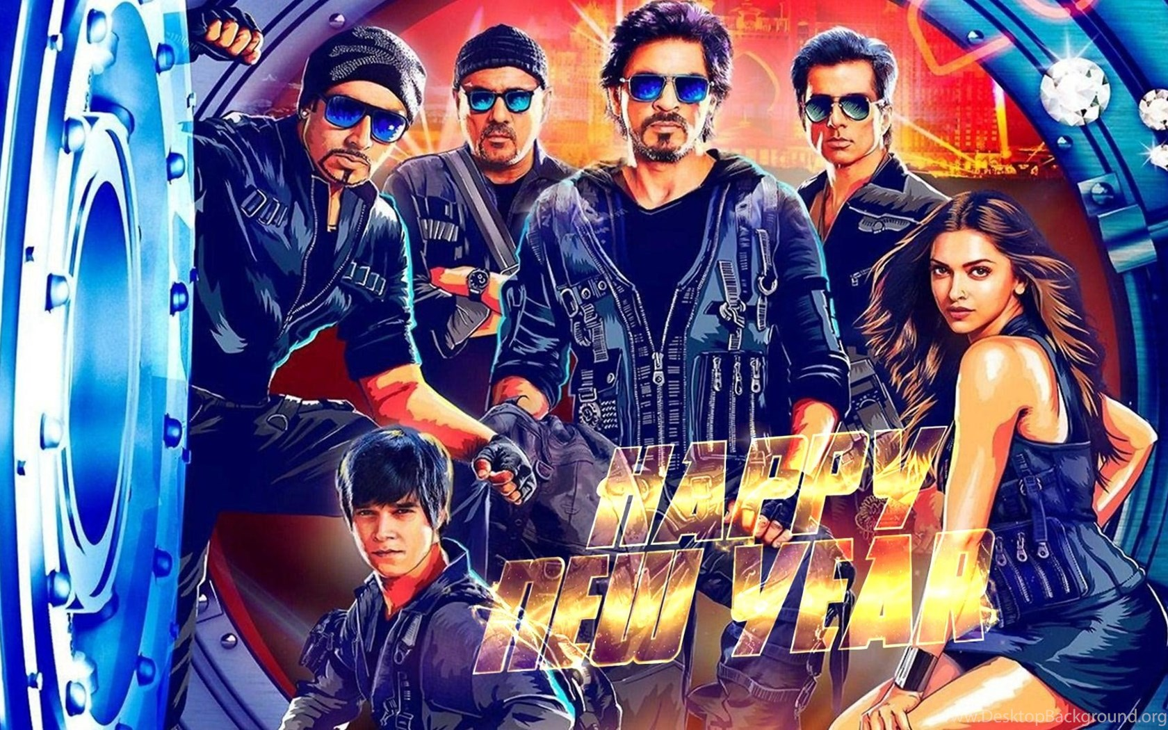 best hd 2014 happy new year movie wallpapers bollywood movies 2014