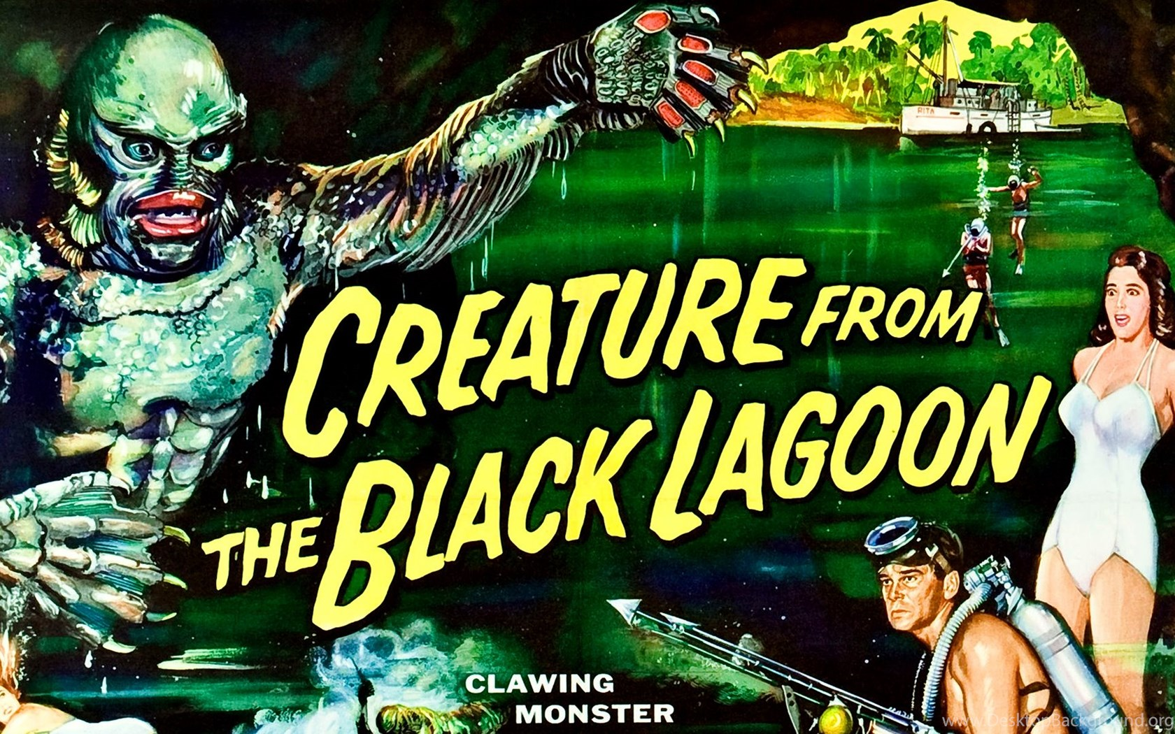 Creature From The Black Lagoon 1954 Movies Film Cine Com
