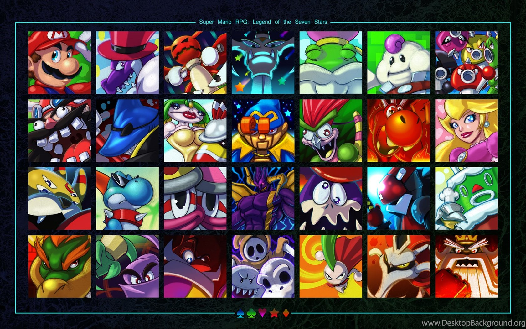 Super Mario RPG Favourites By Colors TheCarnage