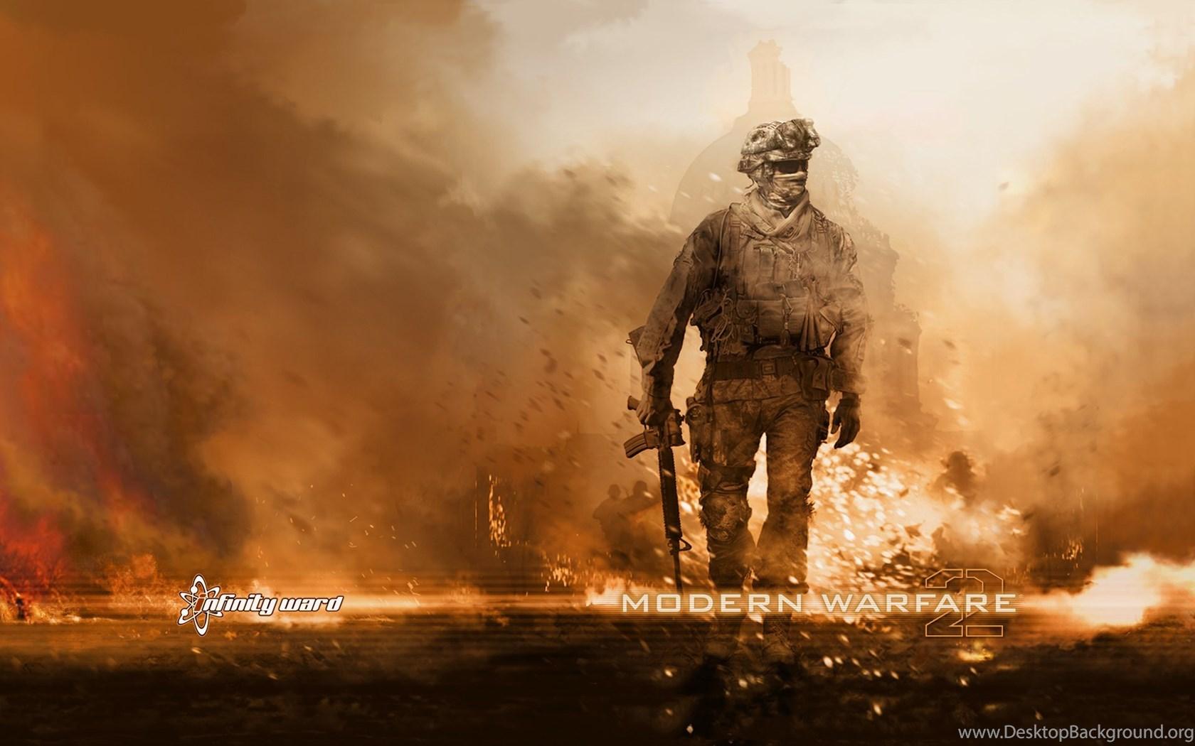 Call Of Duty Modern Warfare 2 PC Games Wallpapers Desktop