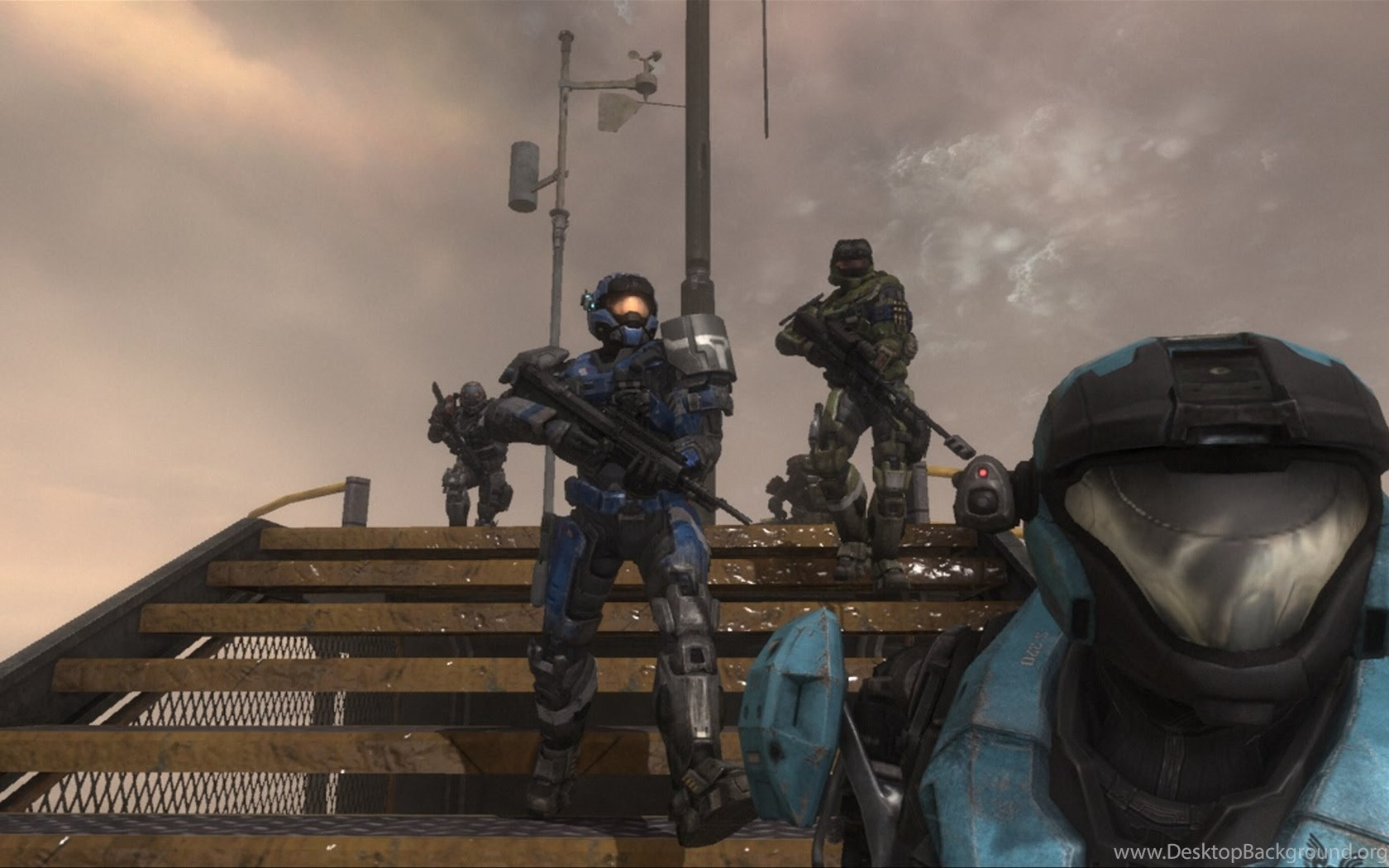 Halo Reach Noble Team On Lone Wolf (Noble Six Player) YouTube