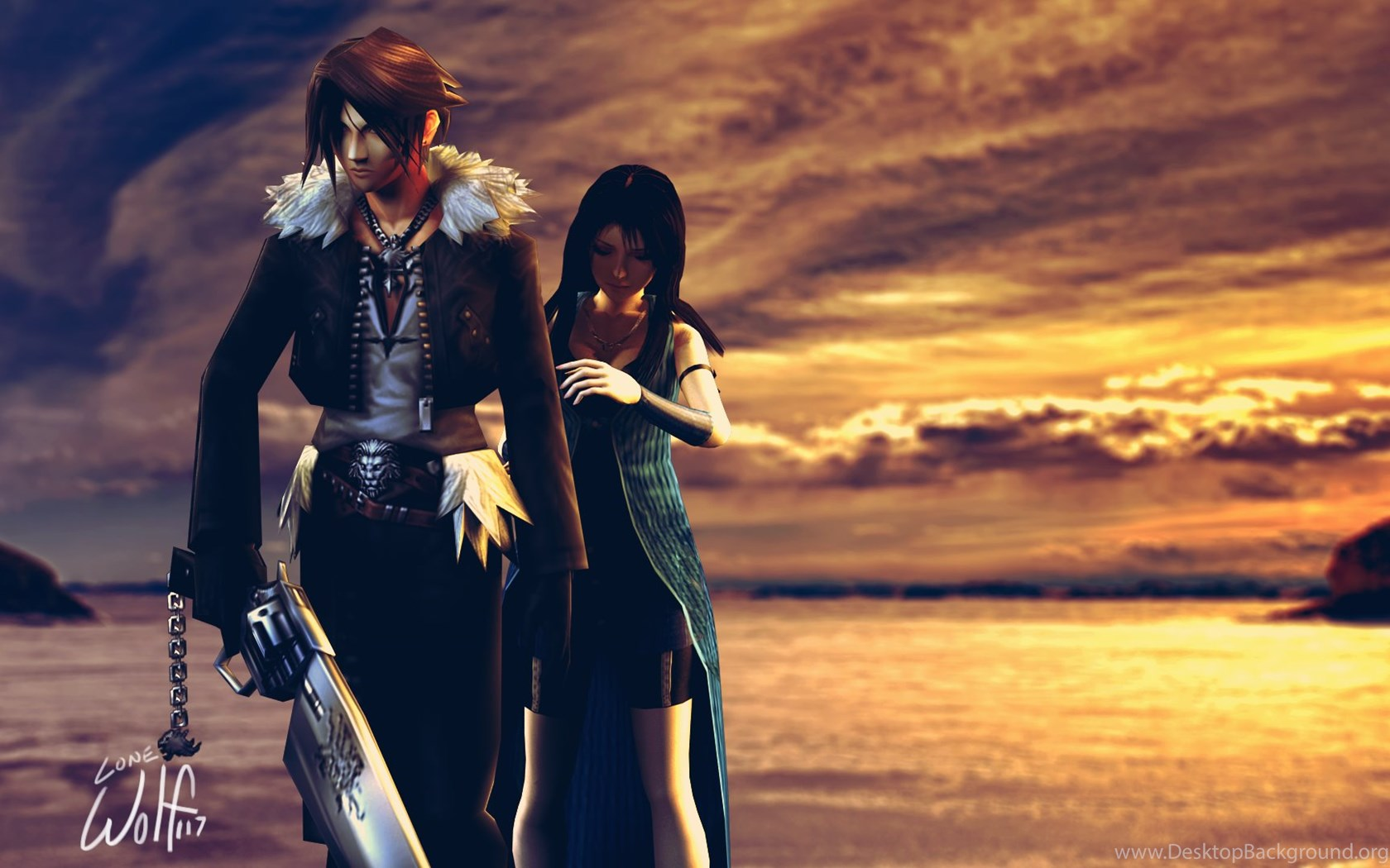 Maybe I M A Lion Final Fantasy Viii By Ruwah On Deviantart