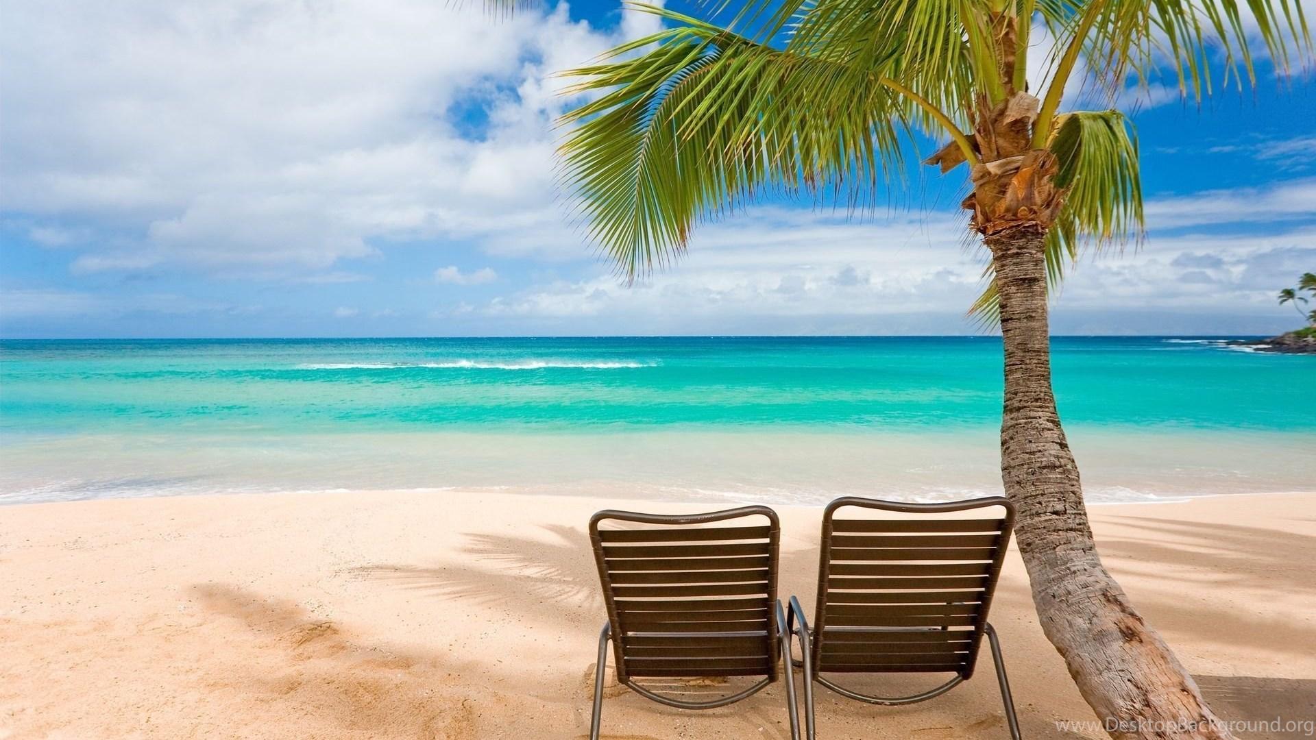 Hawaii Beach Sunset Wallpaper Desktop Background