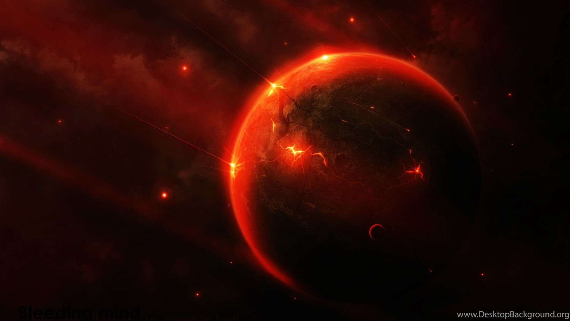 Space Hd Wallpapers The Red Planet Bliz Pix Desktop Background